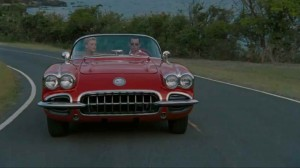 Johnny Depp red car