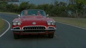Johnny Depp red car
