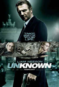 Unknown Liam Neeson poster
