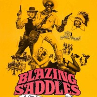 Blazing-Saddles poster yellow