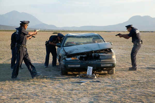 get-the-gringo-car scene