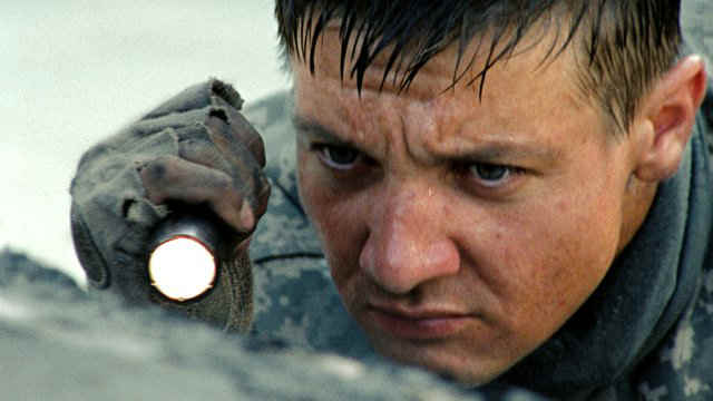hurt locker jeremy renner