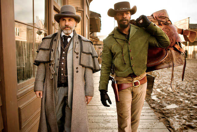 django-unchained-walking scene