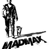 madmax-poster black and white