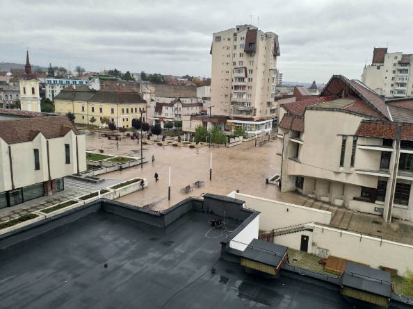 Centralni deo grada Targu Mures