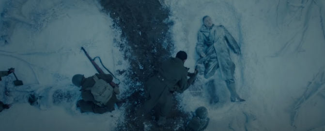 Lovac u Zitu Film ratna scena